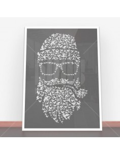 Plakat Birds Beard