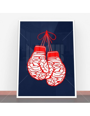 Plakat Brain Gloves
