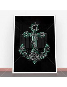 Plakat Electric Anchor