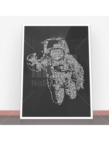 Plakat Flying Astronaut