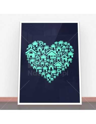 Plakat Home Heart