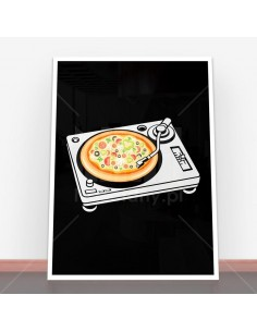 Plakat Pizza Scratch