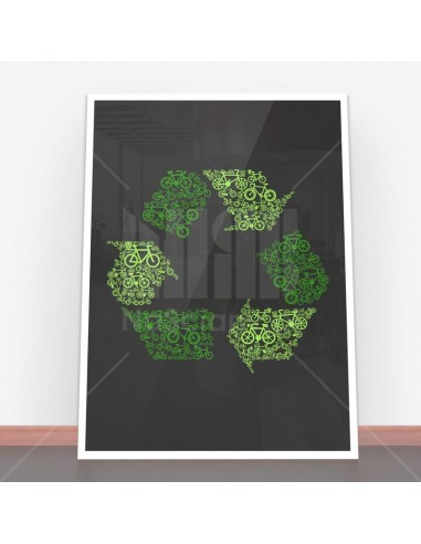 Plakat Recycling