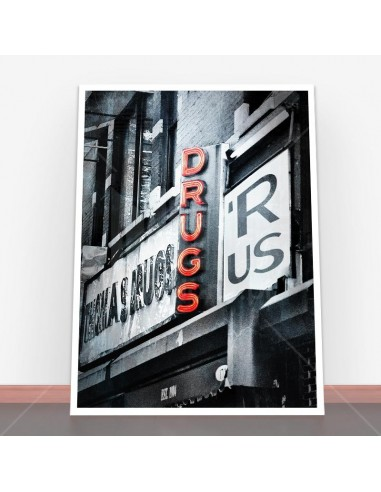 Plakat Drugs R Us