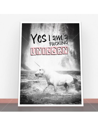 Plakat I Am Unicorn