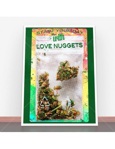 Plakat Love Nuggets