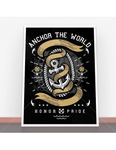 Plakat Anchor The World