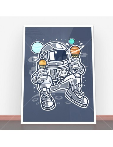 Plakat Astronaut Ice Cream
