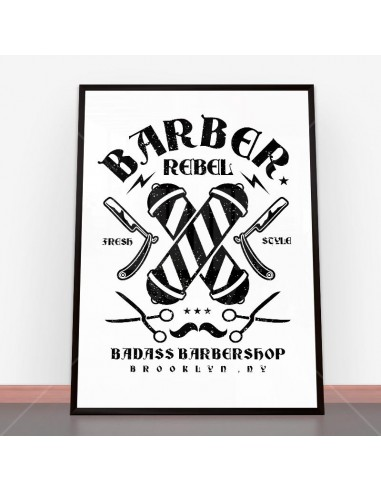 Plakat Barber Rebel II