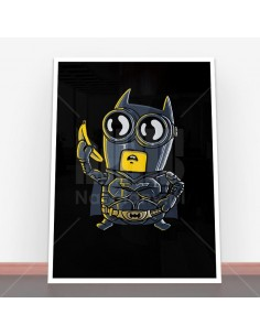 Plakat Bat Minion