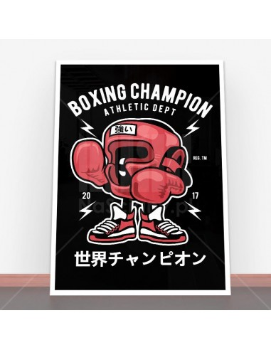 Plakat Boxing Champion
