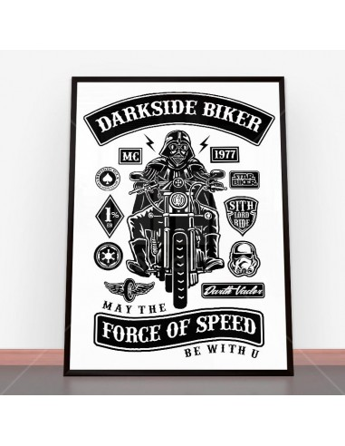 Plakat Darkside Biker