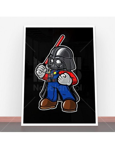 Plakat Darth Plumber