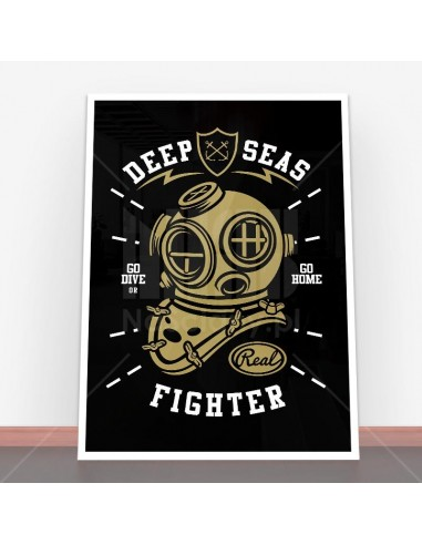 Plakat Deep Seas Fighter