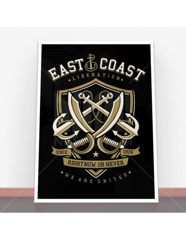 Plakat East Coast 4