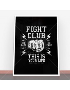 Plakat Fight Club