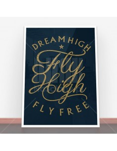 Plakat Fly High
