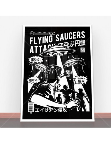 Plakat Flying Saucers Attack