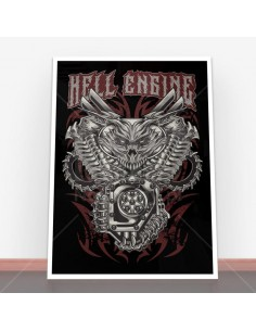Plakat Hell Engine