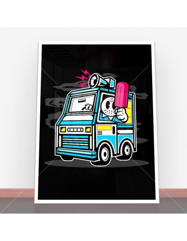 Plakat Ice Cream Truck
