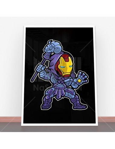 Plakat Iron Skeletor