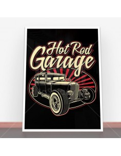 Plakat Hot Rod Garage