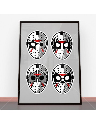 Plakat Jason Rock Faces