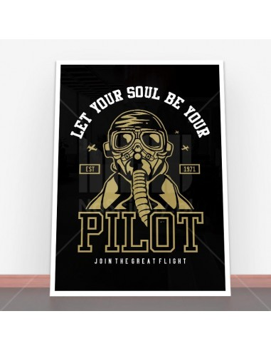 Plakat Let Your Soul Be Your Pilot