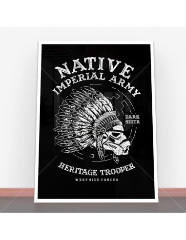 Plakat Native Trooper