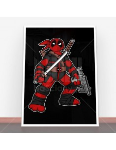 Plakat Ninja Deadpool