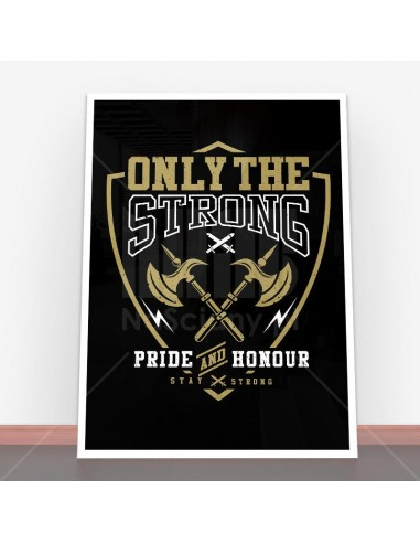 Plakat Only The Strong