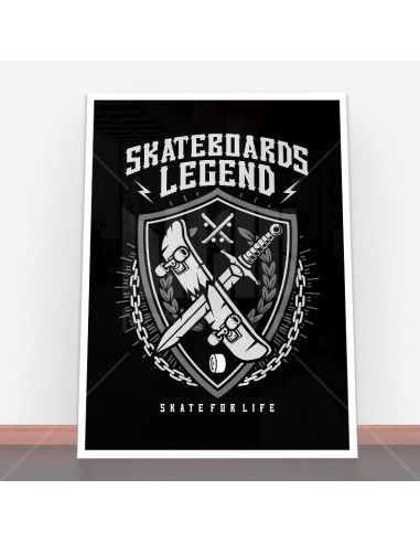 Plakat Skateboards Legend