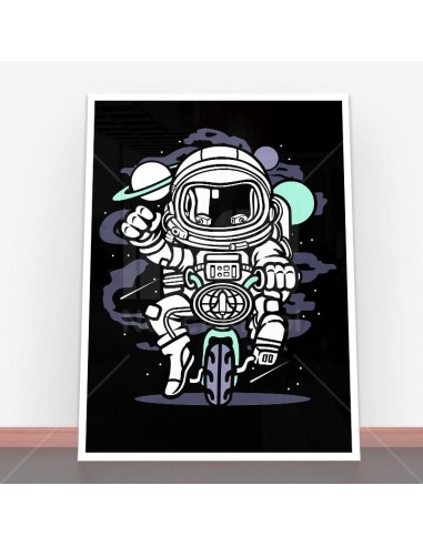 Plakat Space Bike