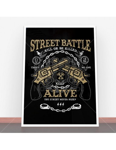 Plakat Street Battle