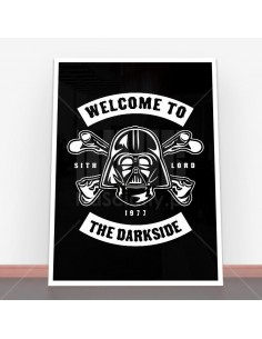 Plakat Welcome To The Darkside
