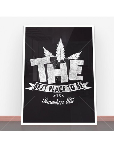 Plakat The best place to be