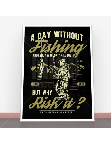 Plakat A Day Without Fishing