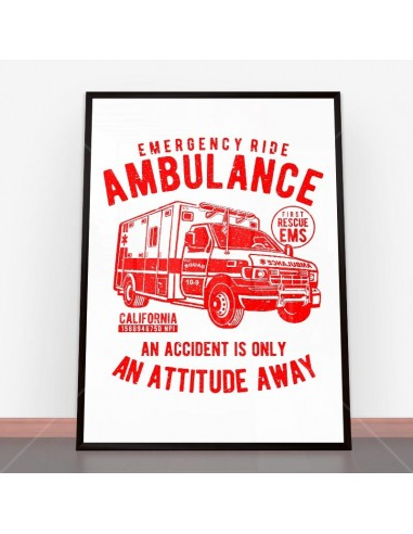 Plakat Ambulance