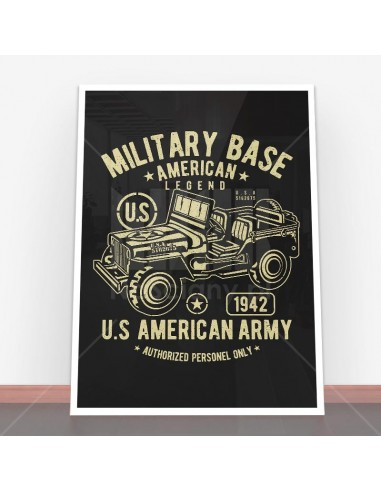 Plakat American Army Jeep