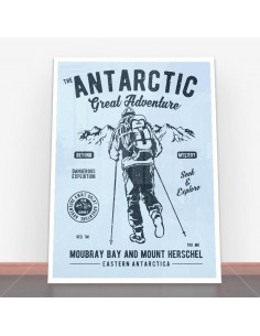 Plakat Antarctic Adventure