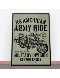 Plakat Army Ride
