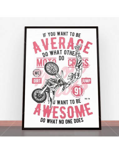 Plakat Awesome Motocross