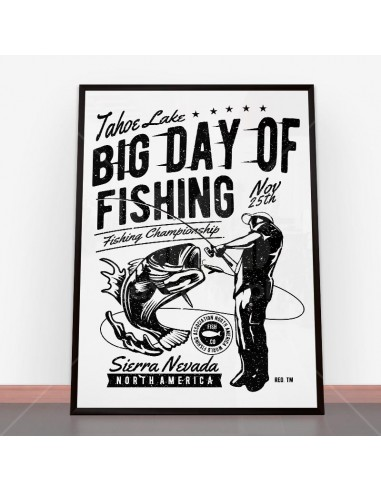 Plakat Big Day of Fishing