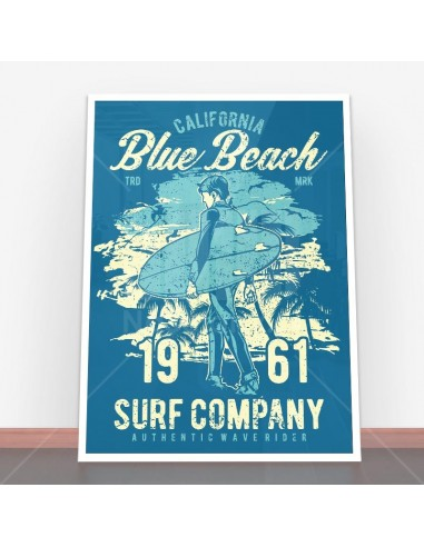 Plakat Blue Beach