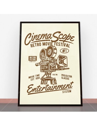 Plakat Cinema Scope