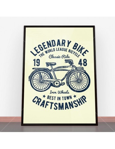 Plakat Classic Bicycle