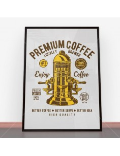 Plakat Classic Coffee Maker