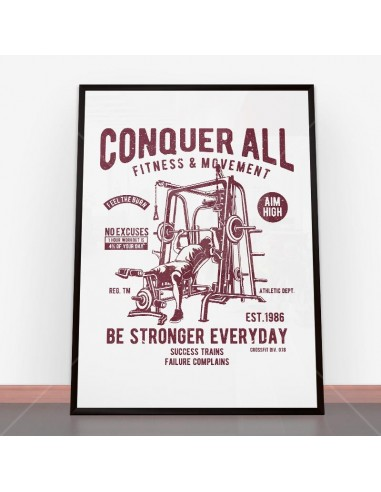 Plakat Conquer All