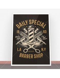 Plakat Daily Special Barber Shop