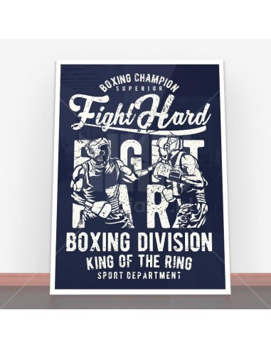 Plakat Fight Hard